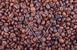 Ik houd van Koffie Stock Afbeelding