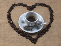 Ik houd van koffie Royalty-vrije Stock Afbeelding
