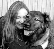 Ik houd van mijn Doggie2 Stock Foto's