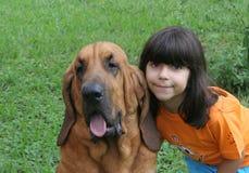 Ik houd van mijn hond royalty-vrije stock afbeeldingen