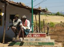 Ik houd van mijn India - Indisch platteland Royalty-vrije Stock Afbeelding