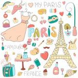 Ik houd van mijn Parijs Royalty-vrije Stock Fotografie