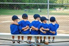 Ik houd van mijn team stock foto