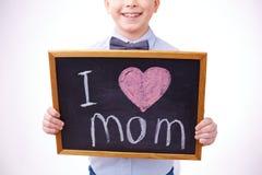 Ik houd van moeder Stock Foto