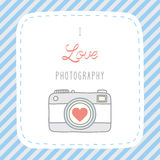 Ik houd van photography1 Royalty-vrije Stock Afbeeldingen