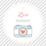 Ik houd van photography2 Royalty-vrije Stock Afbeelding