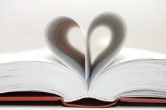 Ik houd van te lezen, houd van ik lezend Stock Fotografie