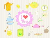 Ik houd van thee Royalty-vrije Stock Afbeelding