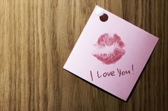 Ik houd van u! stock foto's