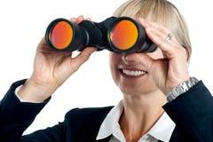 Ik kan visiesucces Stock Foto's
