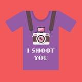 Ik schiet u Stock Foto's