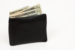 Ik vond een portefeuille Stock Foto's