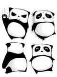 Ik was een vette panda Vector Illustratie