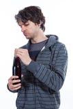 Ik wil deze wijn controleren Stock Afbeelding