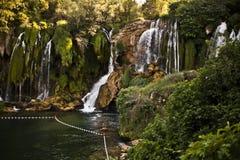 Ik zal nooit vermoeid van watervallen worden royalty-vrije stock foto