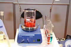 IKA magnetic stirrer RH basic 2 Royalty Free Stock Photography