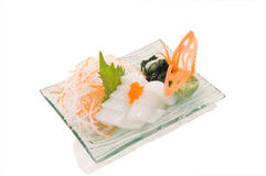 Ika Sashimi Lizenzfreie Stockfotos