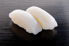 Ika Sushi Stockfoto