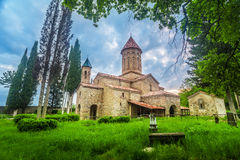 Ikalto cathedral in Georgia Royalty Free Stock Image