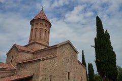 Ikalto-Klosterkomplex, Georgia stockbild