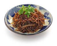 Ikanago no kugini, japanese food Stock Photography