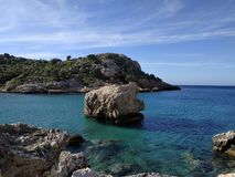 Ikaria island royalty free stock photo