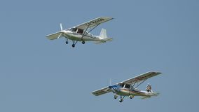 Ikarus C-42 Ultra Light Aircraft Royalty Free Stock Photography