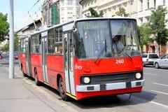 Ikarus Ganz 280 stock afbeelding