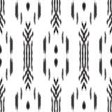Ikat无缝的样式 0 8可用的背景eps向量版本墙纸 库存图片