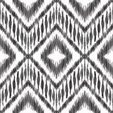 Ikat无缝的样式 0 8可用的背景eps向量版本墙纸 免版税库存照片