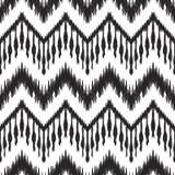 Ikat无缝的样式 0 8可用的背景eps向量版本墙纸 免版税图库摄影
