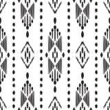 Ikat无缝的样式 0 8可用的背景eps向量版本墙纸 皇族释放例证