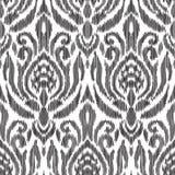 Ikat无缝的样式 时尚墙纸 免版税图库摄影