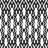 Ikat Bezszwowy Deseniowy projekt dla tkaniny royalty ilustracja