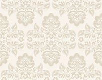 Ikat Damask Seamless Background Pattern Stock Photography