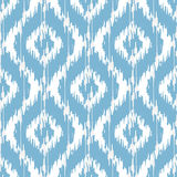 Ikat damask royalty free illustration