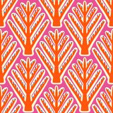Ikat,  ethnic pattern with Kazakh motifs Royalty Free Stock Photography