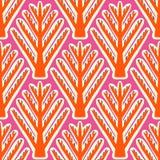 Ikat,  ethnic pattern with Kazakh motifs Royalty Free Stock Photography