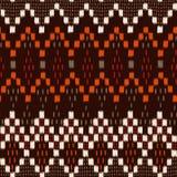 Ikat geométrico Foto de archivo libre de regalías