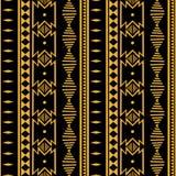 Ikat geometric folklore batik ornament. Tribal ethnic vector texture. Seamless striped pattern in Aztec style. Figure tribal. Embroidery. Indian, Scandinavian vector illustration