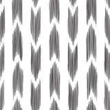 Ikat naadloos patroon manierbehang Stock Foto