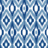 Ikat Ogee Background 9 Stock Photography