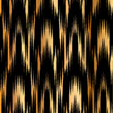 Ikat Ogee Background Stock Photography