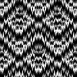 Ikat Ogee Background  34. Seamless monochrome Ikat Ogee Background Pattern Royalty Free Stock Images