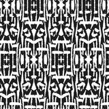 Ikat Ogee Background  69 Royalty Free Stock Image