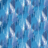 Ikat Ogee Background  91 Stock Photography