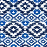 Ikat Ogee Background Royalty Free Stock Photos