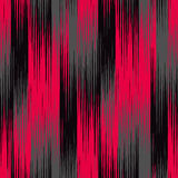Ikat Ogee Background  42. Seamless Tribal Art Ikat Ogee Pattern. Abstract background for textile design,  surface textures, pattern fills or wrapping paper Royalty Free Stock Photos