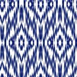 Ikat Ogee bakgrund 115 Royaltyfri Bild