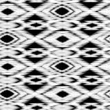Ikat Ogee bakgrund Arkivfoton
